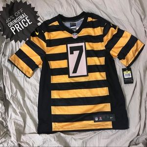 NWT S retro  NFL Steelers jersey #7 MSRP $100